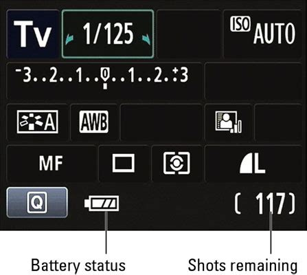 shooting settings for a canon eos rebel t3 series camera