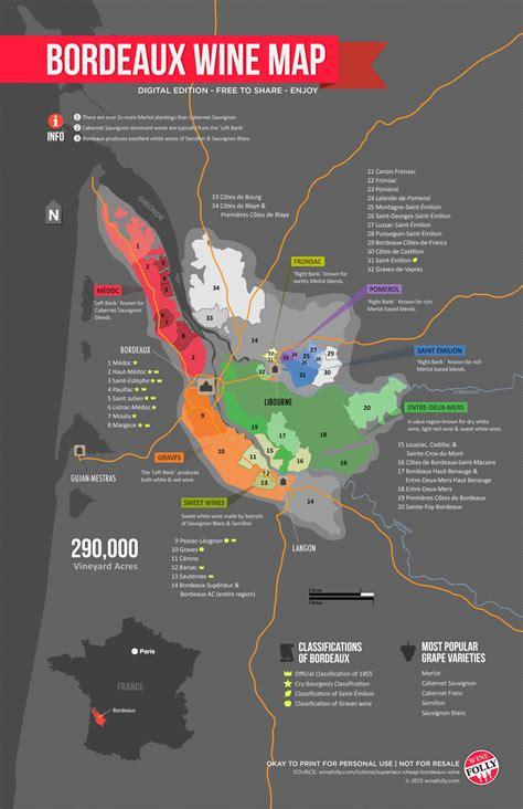 wine map learn about bordeaux wine region map wine folly