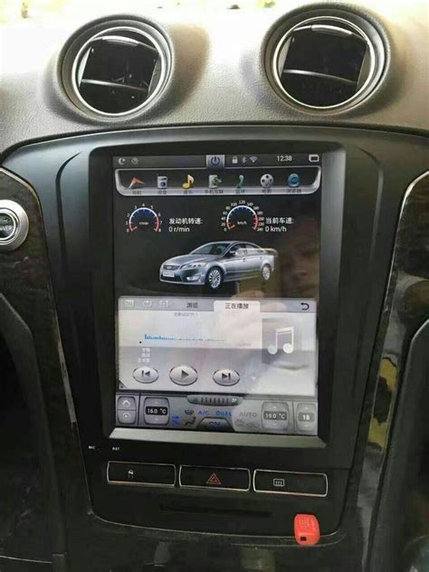vertical screen android navi radio  ford mondeo