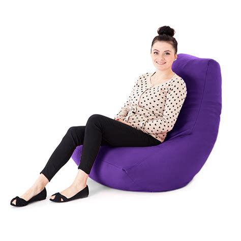 Gaming Bean Bag Chairs For Adults by Purple Faux Leather Bean Bag Gaming Chair Gamer
