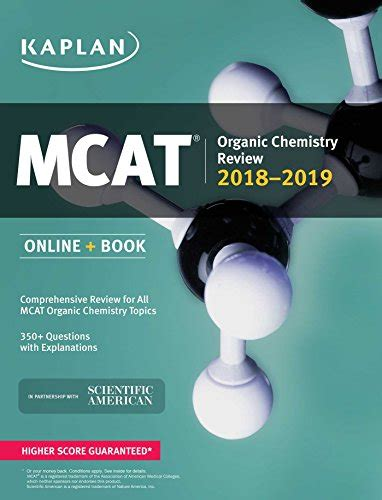 cen review book 2018 2019 cen study guide and practice test questions for the certified emergency mcat organic chemistry review 2018 2019 book