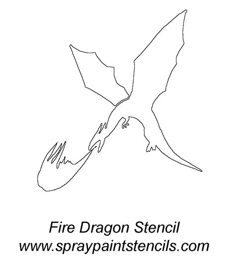 welsh dragon outline welsh dragon templates dog breeds