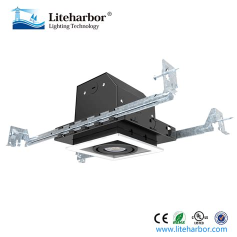 4 inch led recessed lighting new construction 4 inch square trim trimless new construction ic airtight