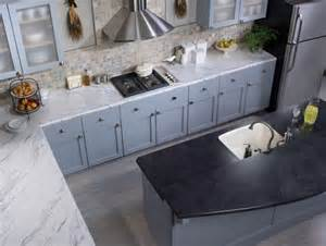 countertop with a crescent edge calcutta marble 4925