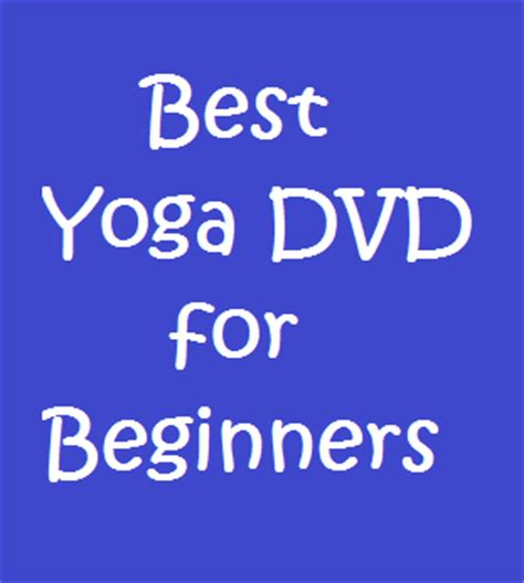 best dvd for beginners healthrelieving