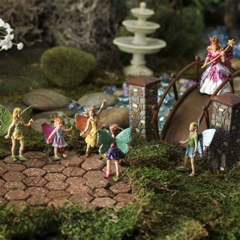 miniature fairy figurines what s new dollhouse