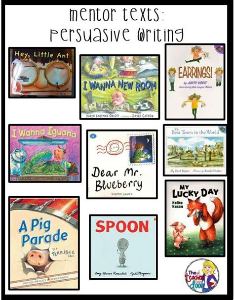 persuasive picture books creative ideas persuasive writing and writing mentor