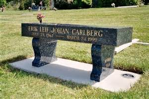 Bench Headstones For Graves Monuments And Grave Stones Locally Designed And Engraved