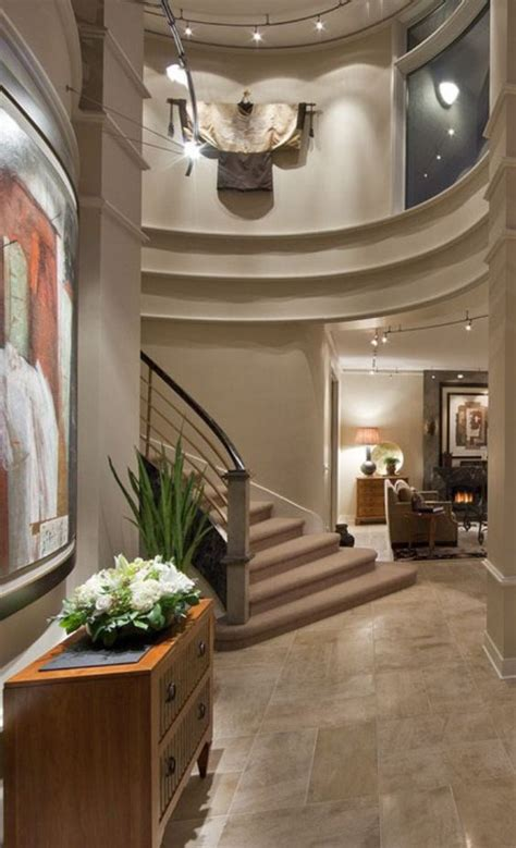 beautiful foyers beautiful foyer in luxury home entry pinterest