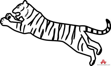 Tiger Outline Images by Tiger Clipart Tiger Outline Pencil And In Color Tiger Clipart Tiger Outline