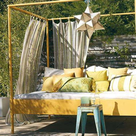 Diy Outdoor Curtains 20 Diy Outdoor Curtains Sunshades And Canopy Designs For Summer Decorating
