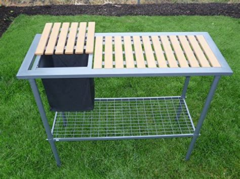potting bench for greenhouse potting bench weatherguard garden and greenhouse workbench portable new ebay