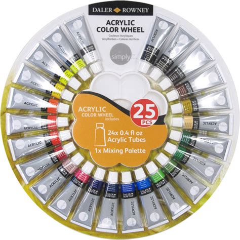 simply acrylic color wheel walmart