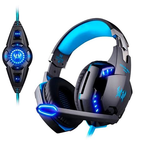 Headset Gamers fone headset gamer each g2200 led usb 7 1 vibra 231 227 o pc