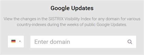 page layout update google wie h 228 ufig nimmt google algorithmus 196 nderungen vor sistrix