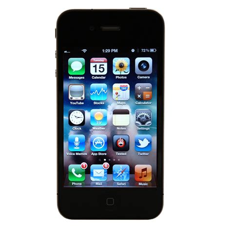 apple iphone 4s a1387 16gb smartphone for at t black or white ebay