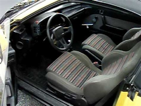 rare 1991 pontiac firefly convertible turbo for sale