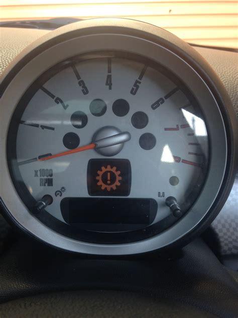 mini cooper yellow engine warning light mini r56 warning light help