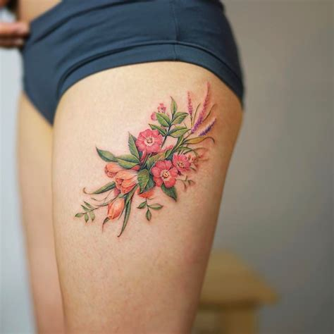 flores por nando tatoo and tatoos