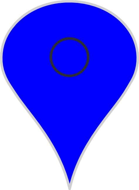 google maps clip art google map pointer blu clip art at clker com vector clip