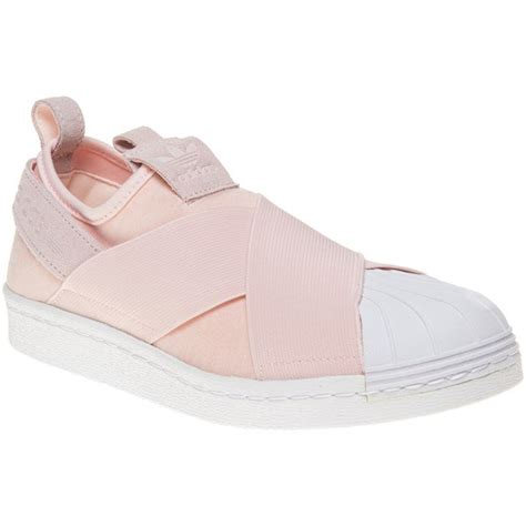 Adidas Slip On Murah Adidas Slip On Suede Shincan Brown cheap womens halo pink white adidas superstar slip on trainers at soletrader outlet