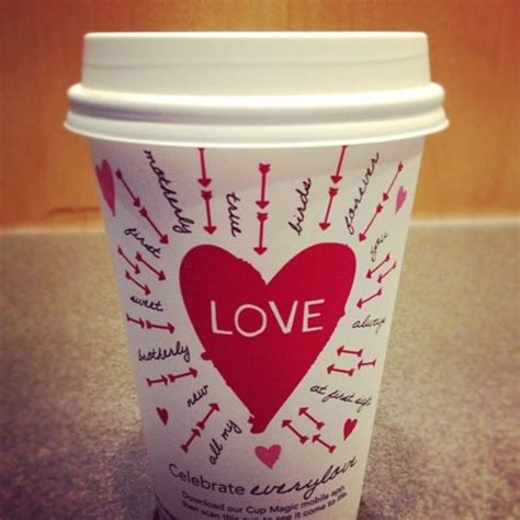 starbucks valentines day cup wish we could keep these all year random things that i