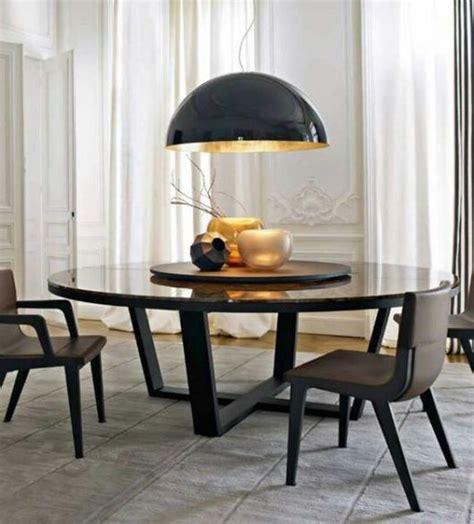 Dining Room Table With Lazy Susan mesa de jantar redonda veja como escolher e 40 fotos