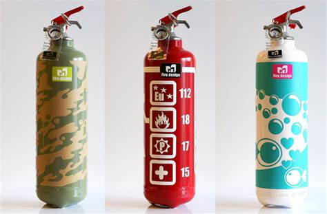 decorative fire extinguisher stylish fire extinguisher designs pixel77