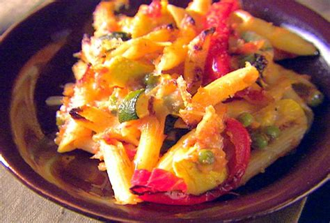 baked penne with roasted vegetables recipe giada de baked penne with roasted vegetables recipe baked penne