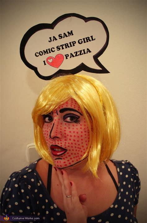 comic strip girl halloween costume