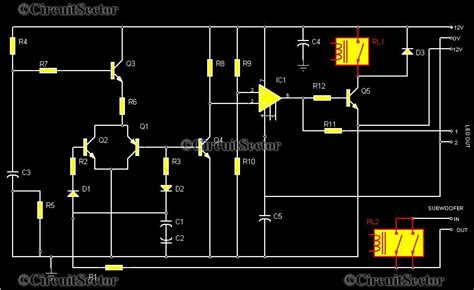 subwoofer protection circuit top circuits