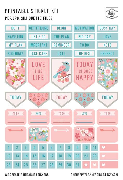 printable diary stickers 796 best paper stickers images on pinterest happy