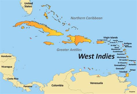 west indies political map pin by tracy hayles on caribbean heritage likes
