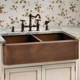 bathroom supplies aberdeen aberdeen smooth double well farmhouse copper sink