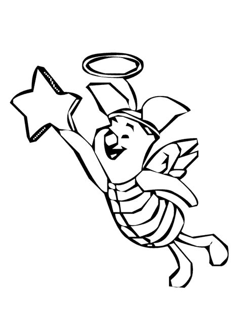 flying angel coloring page coloring pages angel flying piglet coloring page angel