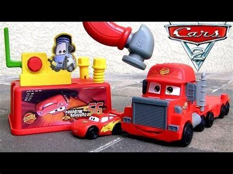 lightning mcqueen tool bench lightning mcqueen tool bench pixar cars mack tool truck 2