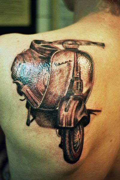 scooter tattoos vespa tattoos askideas
