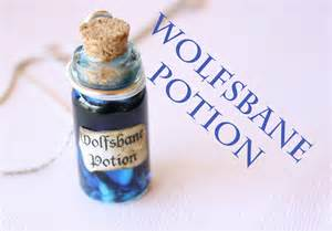 wolfsbane harry potter potion ep 6 bottle charm