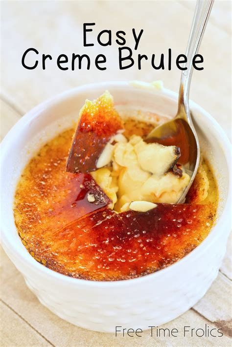 creme brulee recipe basic creme brulee recipe dishmaps