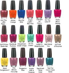 opi colors go in the paint opi fact