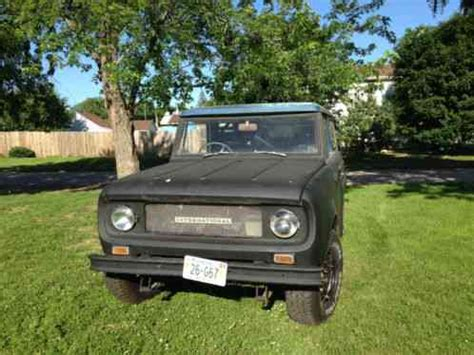international harvester scout 1967, 800 right hand drive