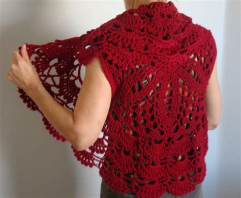 etsy vest pattern crochet circle vest pattern easy crochet pattern digital