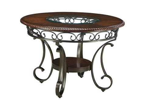 Nw Rounded furniture world nw glambrey dining table