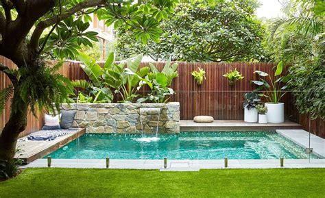 small backyard pool landscaping ideas best small pool ideas for a small backyard 35