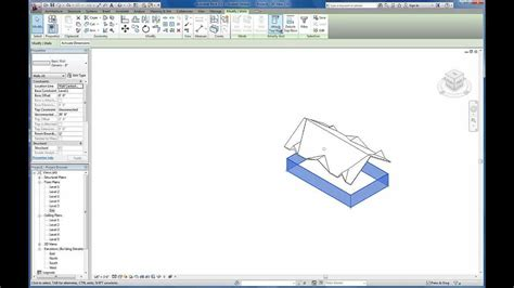 tutorial revit roof revit tutorials custom gable roof using slope arrows