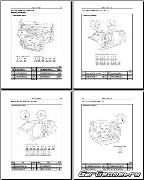 service manuals schematics 2004 toyota sienna regenerative braking кузовные размеры toyota sienna 2004 2010 mcl2 collision repair manual