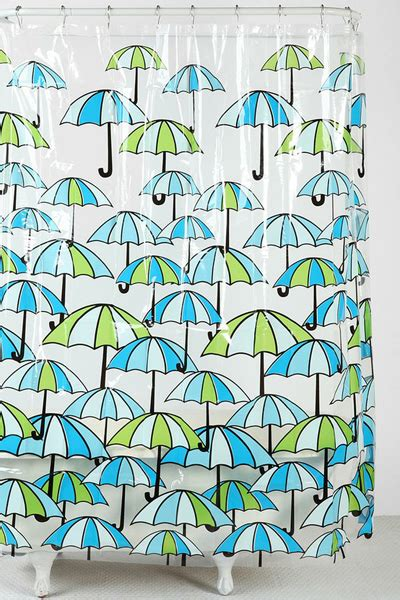 umbrella shower curtain january 2013 everything turquoise