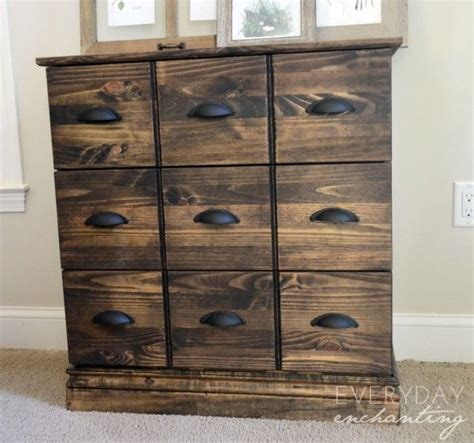 Diy Apothecary Cabinet by Tarva Dresser To Pottery Barn Apothecary Cabinet Hack