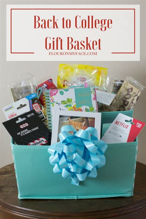 Gift Card Ideas For College Students - diy back to college gift basket giftcardmall gcmallbts flour on my face