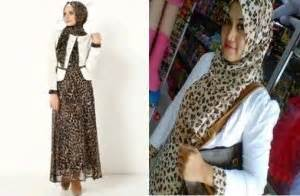 Set Maxi Jersey Real Pic Bm10731 busana wanita leopard set gamis blazer